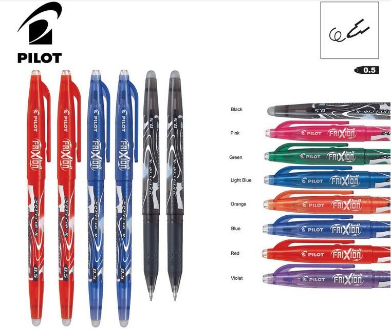 купить Гелевая ручка Pilot FRIXION 0.5 Pen 40 /8 lfb/20ef LFB-20EF по цене 9235 рублей