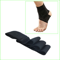 Free shipping SAG01 Sports Protector Ankle Guard Support Elastic Ankle Support Pad For Outdoor