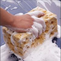 New Fashion Hot Sale Mini Yellow Car Auto Washing Cleaning Sponge Block S7NF