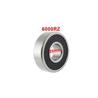 Free  shipping  6000RZ Shielded Deep Groove Radial Ball Bearing 10 x 26 x 8mm  5pcs