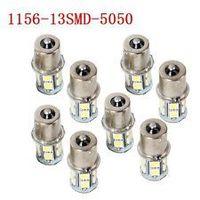 HotSale,1156/BA15S P21W 13 SMD 5050 LED Brake Tail Turn Signal Light Bulb Lamp white Auto led Car bulb light 12V 13smd 13led