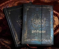 Harry Potter Vintage Diary Planner Journal Book Agenda Notebook Notepad Collections Toy Gift + 1 Free tattoo