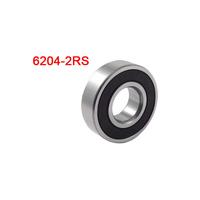Free  shipping  6204-2RS 6204 2RS Shield Sealed Ball Bearing 20mm x 47mm x 14mm