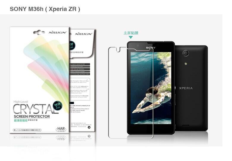 Защитная пленка для мобильных телефонов Nillkin Sony Xperia ZR M36h защитная пленка для мобильных телефонов hd sony xperia zr m36h