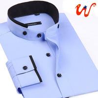 Hot 2014 Men's Shirts Newest Style Brand Commerce Dress Shirts Long-Sleeve Casual Shirts Men's Fashion Clothing S-4XL XG50-226
