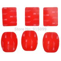 10set/lot High Quality Adhesive Sticker TMC 3M sticker Set ( 6 pcs ) for Gopro Helmet Mount HD HERO2 HERO3 Free Shipping GA14