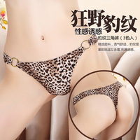 Sexy leopard Sexy Sheer G-String V-String Lingerie Underwear Thongs Panties Ladies Women