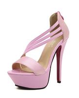 size 34-39 women's high heels platform sandals sexy sandals shoes 3 colors sy-91