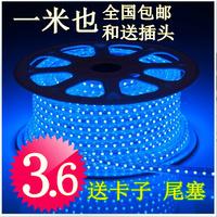 High bright led strip 3528 smd 60 beads with lights super bright 220v conduit lamp soft light strip