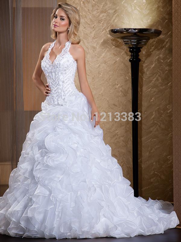Western lace wedding dress - photo#22