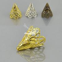 10 PCS Fashion DIY Jewelry Accessories Petunias Shape 3 Colors