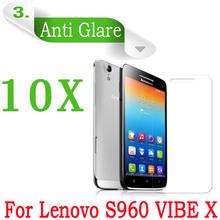10Pcs/lot,original Lenovo S960 VIBE X screen protector,Matte Anti-Glare screen protective film for lenovo s960,Free shipping