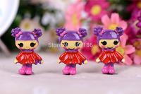 Free Shipping 20PCS/Lots Very Hot and Kawaii Resin princess Lalaloopsy lele angel .Cartoon cabochons FOY DIY 38*25