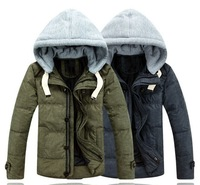 Free shipping 2014 Winter high-quality fashion Down Jacket Mens short thick winter clothes D002
