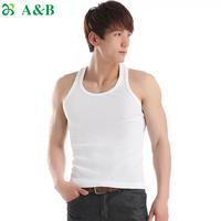 Underwear Summer Autumn Thin Waffle Three-Dimensional Breathable Sleeveless Vest Male T-shirt