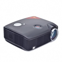 2500 lumens full HD LED portable video game projector,factory wholesale,free shipping home theater projector