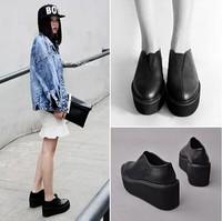 2014 autumn fashion women platform boots cool platform shoes lady boots free shipping