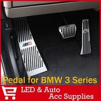 Car Pedal Metal Pedal Auto Transmission for BWM E46/ E90/ E92/ E93/ E87/ 3 series/ NEW1 AC Schnitzer AT Car Brake Pedal