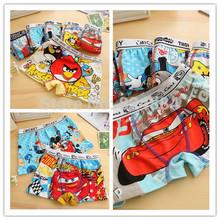 2014 New design cuecas infantil Free shipping disny princess 6pcs/lot random boys underwear  2-10yrs briefs kids clothing set(China (Mainland))