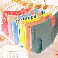 Free shipping  VS lingerie calcinhas cartoon cute panties briefs, sexy women's underwear love pink,sexy lingerie,5pcs/lot