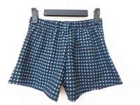 2014 New Fashion Women's Summer Blue Dot Printed Elastic Waist All-Match Casual Shorts,Free Shipping