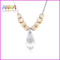 2014 Water Drop Crystal Necklaces Made With Genuine Swarovski Elements #107140