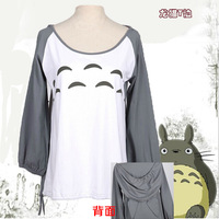 2014 Newest Daily Fashion Cosplay Costume My Neighbor Totoro Hoodie Coat Free Shipping
