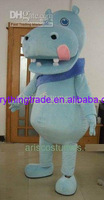 New arrival 2014 lovely hippo mascot costume customized mascot fancy dress costumes animal costume party costumes