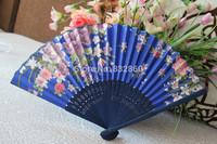 Free Shipping 100pcs/lot elegant wedding bamboo hand fan gift favor