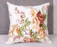 50*50cm New Hot Sale Elegant Reactive Printed Cotton Canvas Cushion Cover Delicate Sofa Car Throw Pillow Cases Home Decor Square