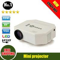 Free shipping: UC30 150 Lumin projector Mini Led Projector HDMI Home Theater Projector Support HDMI VGA AV USB Portable 1080P