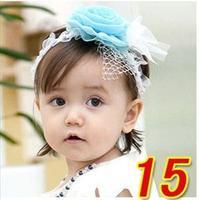 2014 NEW Baby Girls Headwear Cute Little Kids' Headbands Gift