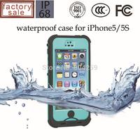 redpepper waterproof case for iphone 5/5s 100% Sealed Durable Diving Underwater Shockproof Dirtproof