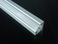 10m/Lot 1919H aluminum profile with PC cover for width up to 11mm led strips Interior accent led lighting corner led Lighsts
