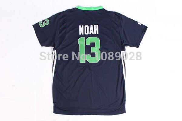 2014 All Star Games #13 Joakim Noah Embroidery Basketball Jerseys East Team Hot Sales Training Tops Sports Jerseys(China (Mainland))