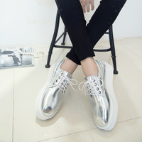 free shipping new arrival 2014 women's silver shoes