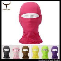New multi Outdoor sports swimming women and men facekini beanie,diving mask face mask, suncare, soft quick dry  touca men MZ05