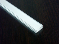 100m/Lot 1506B aluminum profile with PC cover for width up to 11mm led strips Interior accent led lighting stores shelf lights
