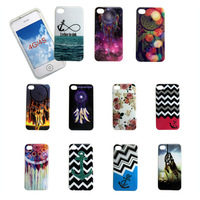 By DHL 100pcs/lot  New arrival 11 species Anchors Dream Catcher soft TPU phone cases covers for  iphone 4 4S case