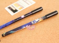 South Korea stationery wholesale romantic starry night pen signature gel pen