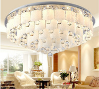2014 Creative Round Crystal Lamp Dining Living Room Bedroom Lamp Crystal Ceiling Lights Restaurant With Ceiling Lights ds-094