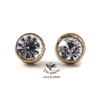 ED1232 Flash shine jewelry wholesale special texture mini simple stud earrings 6pcs/lot