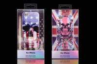 1pcs Luxury Just Fashion Puro TPU Soft Case National USA American and UK British Flag Cover For iPhone 5G 5S,Free Shipping