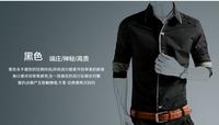 2014 new men's long-sleeved shirt Slim men's casual shirt business shirt men gentleman men's shirts