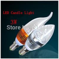 LED Bulb Candle Light Small Screw E14 3W 5W 7W 9W Energy Saving Tips Bulb Pull Taillight