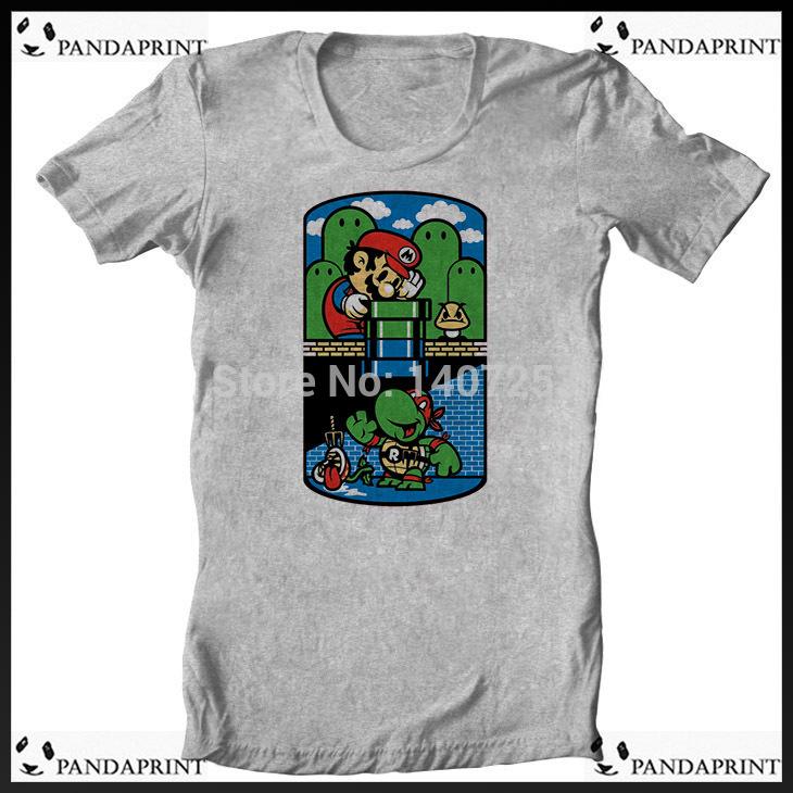 Teenage Mutant Ninja Pandas Shirt Mario Teenage Mutant Ninja
