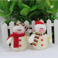 9*13CM Snowman Christmas Tree Ornament Chiristmas Gift Christmas Decoration Supplies Free Shipping PX0097