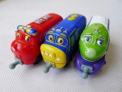 Tomy Chuggington Train 3pcs Wilson/KOKO/Brewster Toy Gift Loose(China (Mainland))