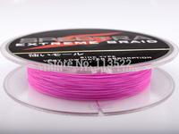 Wholesale 328 Yards 10LB 0.12mm PE Dyneema Braided Fishing Line 300M Pink Spectra Braid