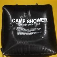 1PCS New ideal design outdoor camping  bath bag black large capacity 40L bath bag for summer travelling EJ640747